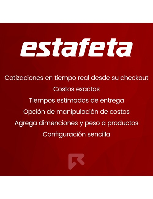 Estafeta Carrier Module for PrestaShop