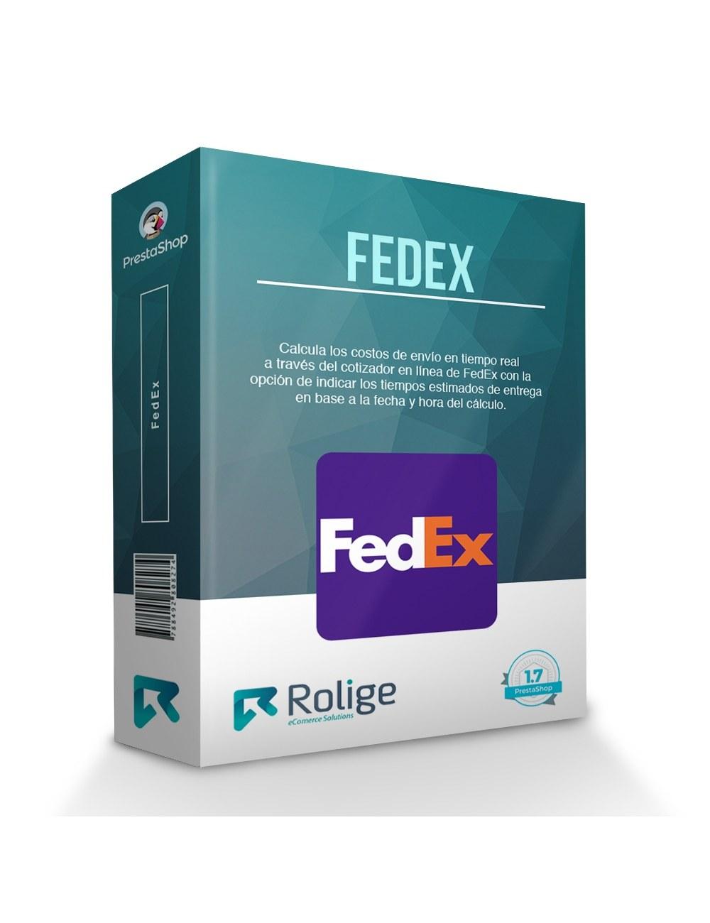 Module FedEx Carrier for PrestaShop